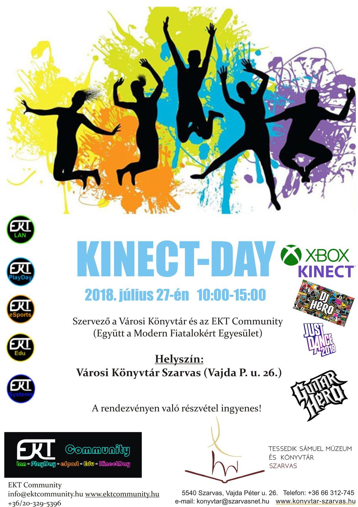 KinectDay Plakát